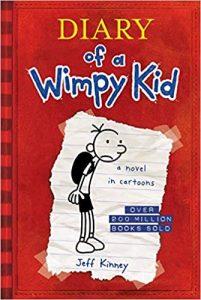 Diary of a Wimpy Kid, quyển 1 - Tác giả Jeff Kinney